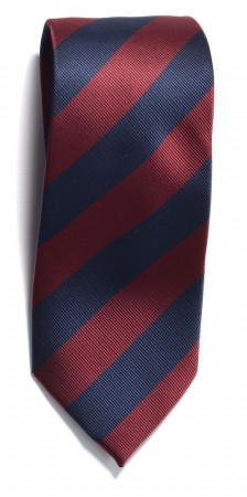 The regimental stripe Navy/Wine