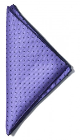 Handkerchief Purple/Navy