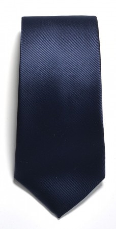 Tie solid color Navy