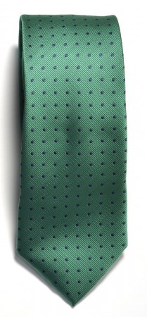 Tie dotted Green/Navy