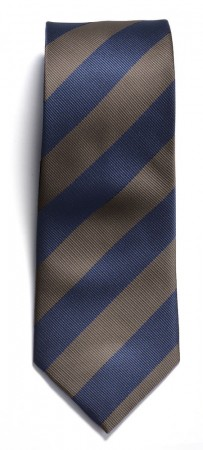 The regimental stripe Navy/Brow
