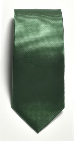Tie solid color Green