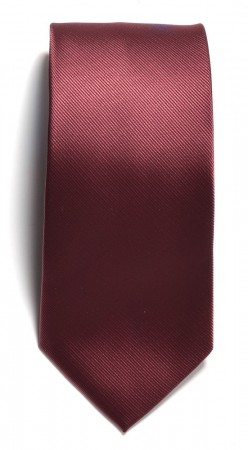 Tie solid color Wine