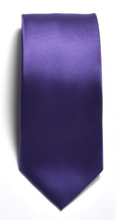Tie solid color Purple